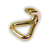 38mm Znic Plated Double J Hook 3000KG